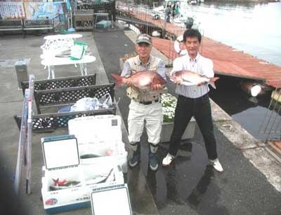 2011年5月15日(日)若狭湾で鯛の52.5cmを釣られました
