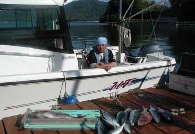 2011年5月18日(水)若狭湾で鯛の73cmを釣られました