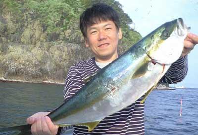 2011年5月25日(水)若狭湾でヒラマサの75cmを釣られました