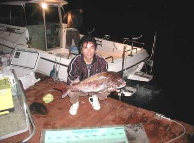2011年6月4日(土)若狭湾で鯛の79cmを釣られました