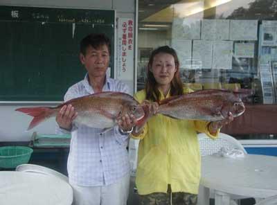 2011年8月14日(日)若狭湾でマダイの68.5cmを釣られました
