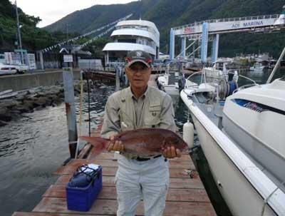 2011年9月25日(日)若狭湾で鯛の58.0cmを釣られました
