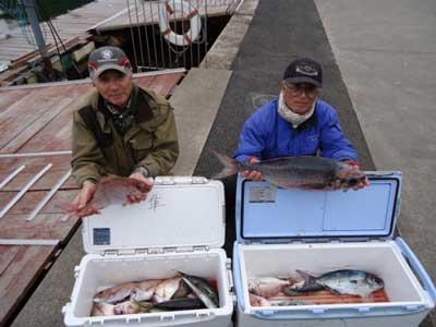 2012年3月16日(金)若狭湾でメダイの70cmを釣られました
