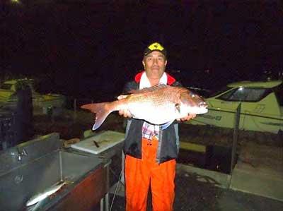 2012年4月24日(火)若狭湾で鯛の71cmを釣られました