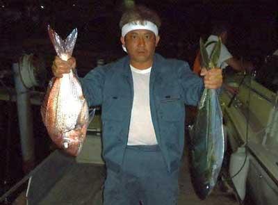 2012年4月29日(日)若狭湾で鯛やヒラマサを釣られました