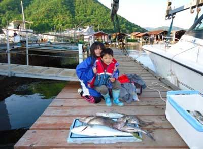 2012年5月13日(日)若狭湾でマトウダイを釣られました