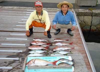 2012年6月17日(日)若狭湾で鯛の65cmを釣られました