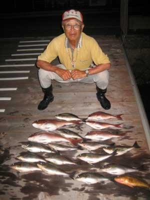 2012年7月2日(月)若狭湾でイサキの40.0cmを釣られました