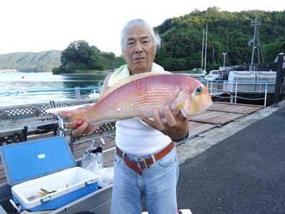 2012年9月12日(水)若狭湾でアマダイの47.0cmを釣られました
