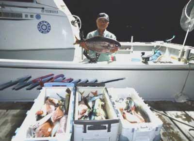 2012年10月21日(日)若狭湾でメダイの75.0cmを釣られました