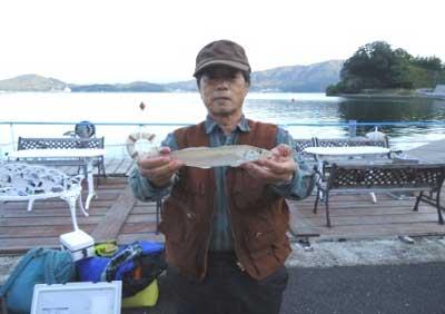 2012年10月25日(木)若狭湾でアマダイの47.0cmを釣られました