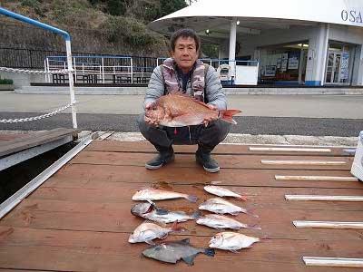 2013年3月17日(日)若狭湾で鯛やアマダイやソイを釣られました