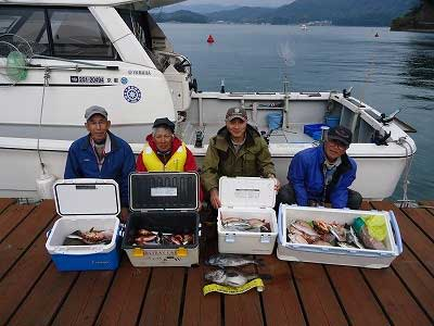 2013年3月31日(日)若狭湾でクロソイやメダイを釣られました